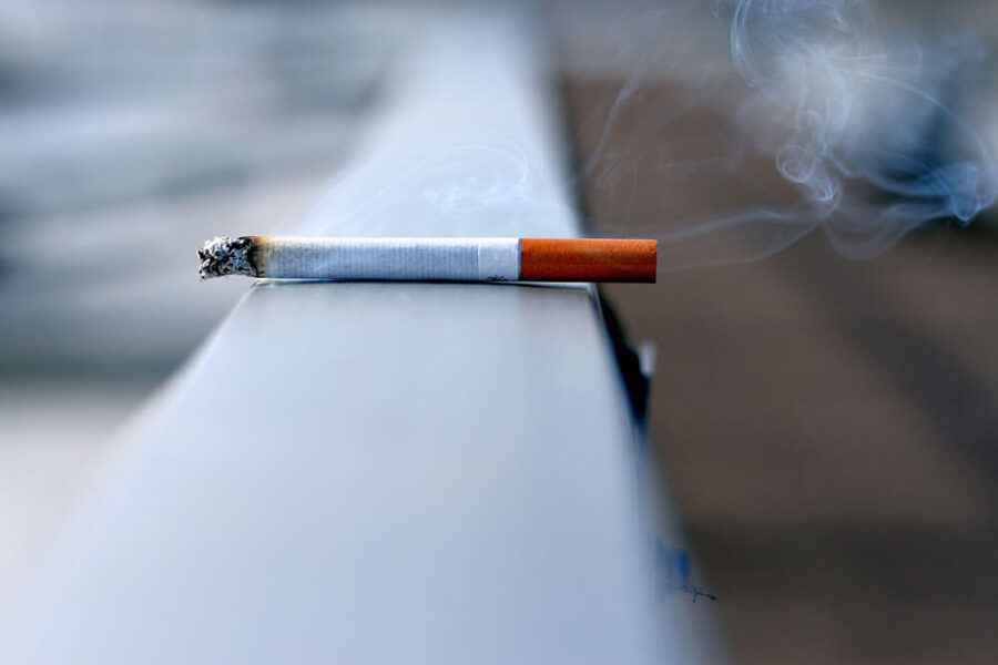 Cigareta - Sekundarni dim